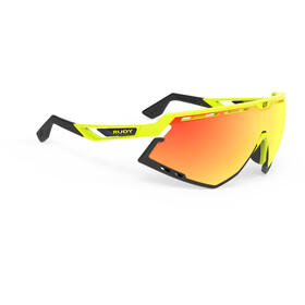 Rudy Project Defender Glasses Yellow Fluo - RP Optics Multilaser Orange